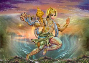 Hanuman-rahu-indra