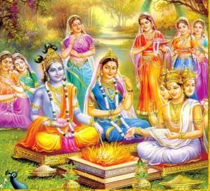 krishna-rukmini-wedding