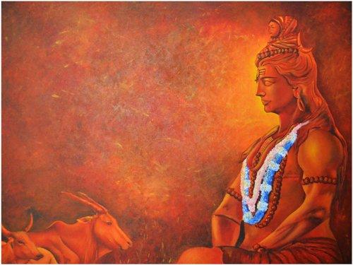 Shiva har har mahadev
