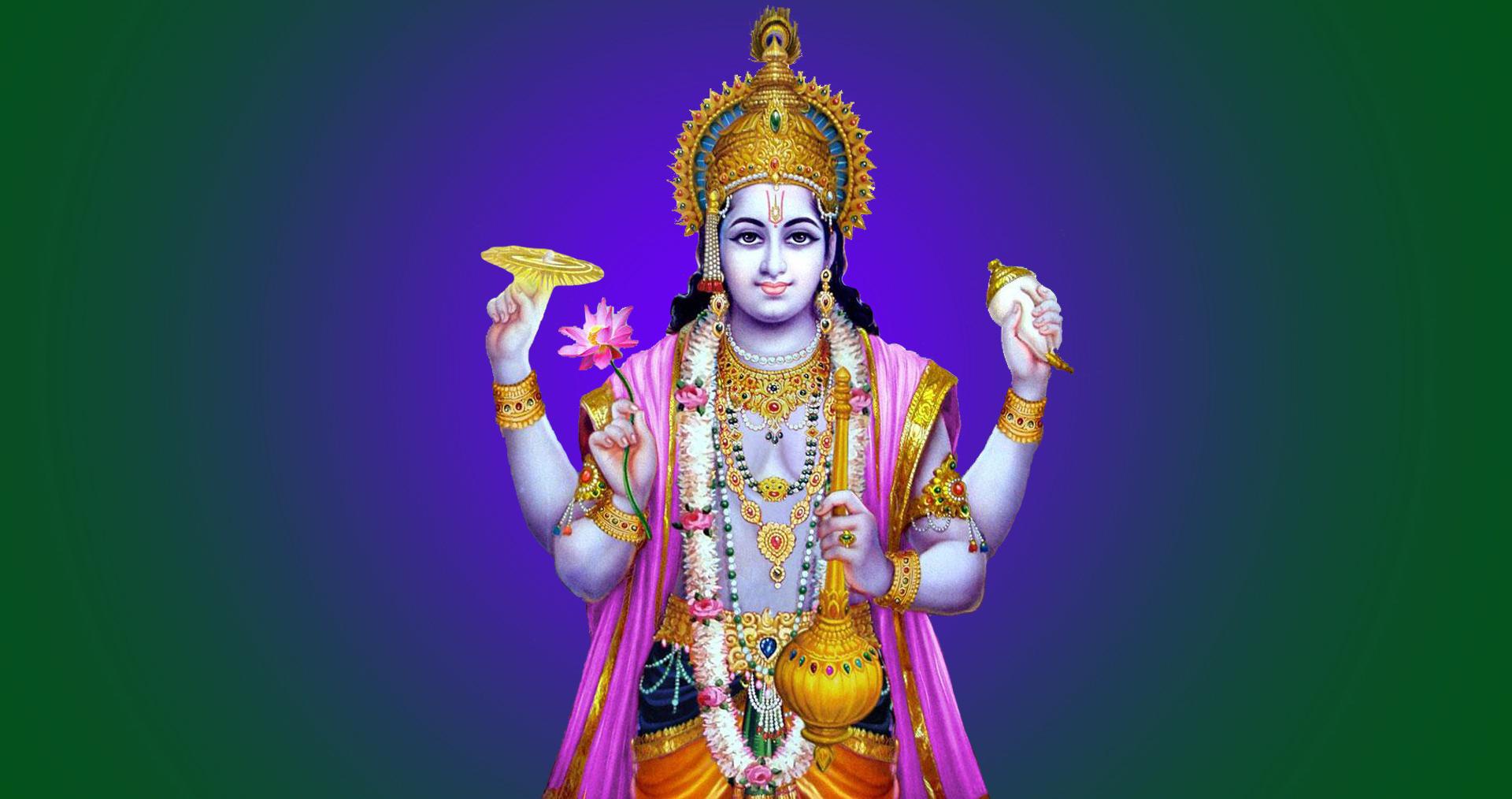 Lord-Vishnu-chakra-gada