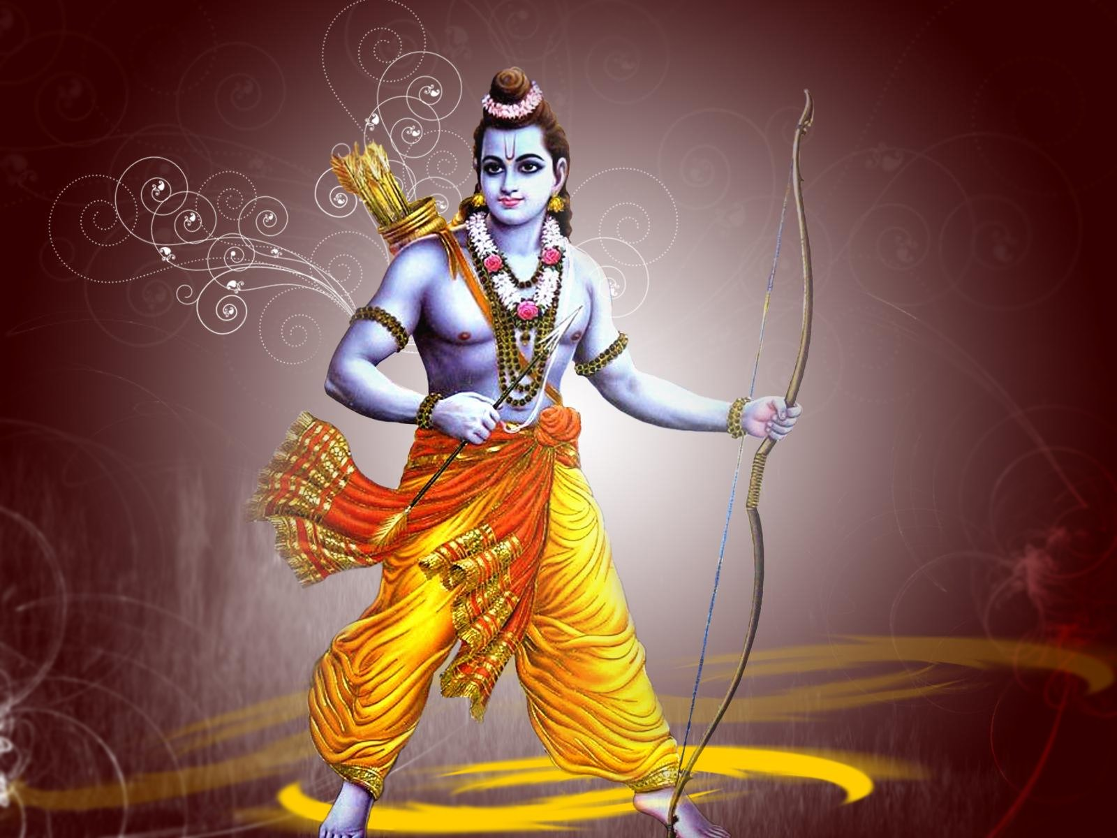 Most Beautiful Lord Ramji Desktop Wallpaper - 11