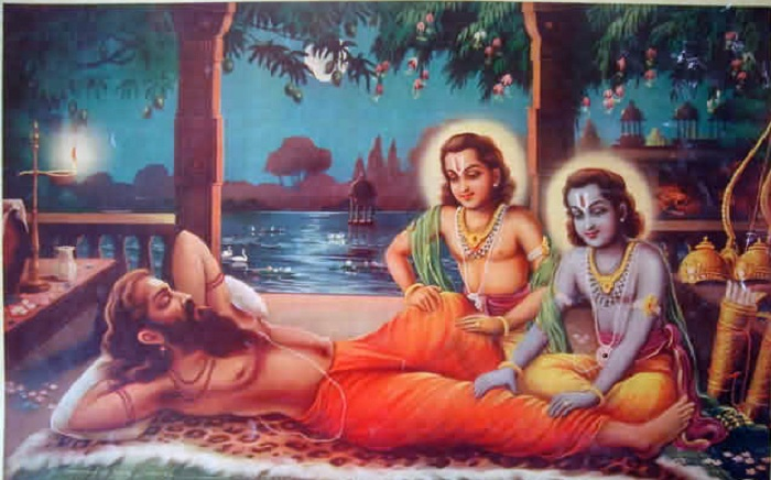 Ram_and_Lakshman_perform_guru-seva_by_pressing_Vishvamitras_feet_and_legs