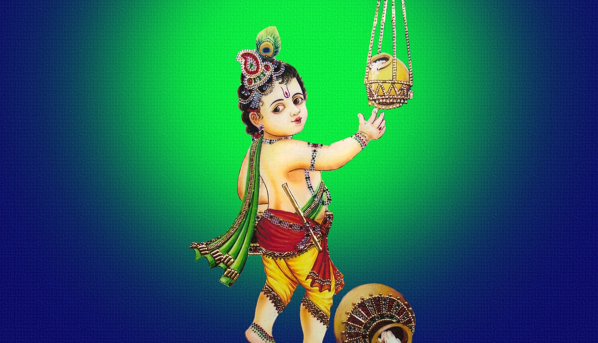 Shree-Krishna-makhan-chor